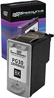 Speedy Inks Remanufactured Ink Cartridge Replacement for Canon PG30 (Pigment Black)