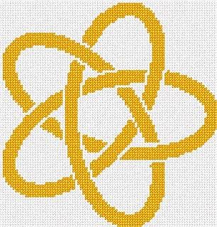 pepita Celtic Knot 8 Needlepoint Kit
