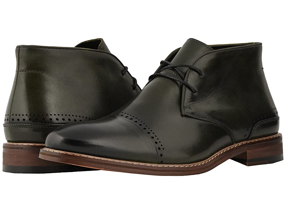 Stacy Adams Ashby Cap Toe Chukka Boot (Cargo Green) Men
