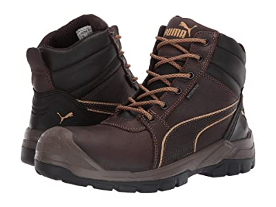 PUMA Safety 6 Tornado WP (Brown) Men