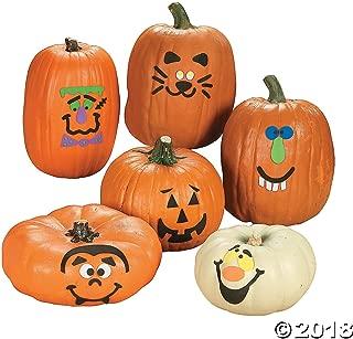Fun Express Foam Pumpkin Decorations