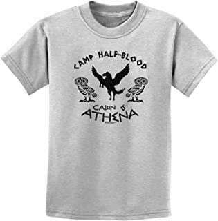 TooLoud Camp Half Blood Cabin 6 Athena Childrens T-Shirt