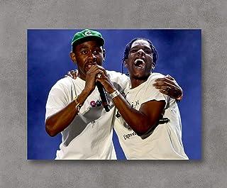Kai'Sa Tyler The Creator & A$AP Rocky Poster Art Print Posters,18''×24'' Unframed Poster Print