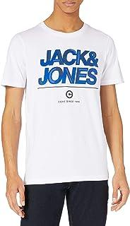 Jack & Jones Jcoberg Turk tee SS Crew Neck Camiseta para Hombre