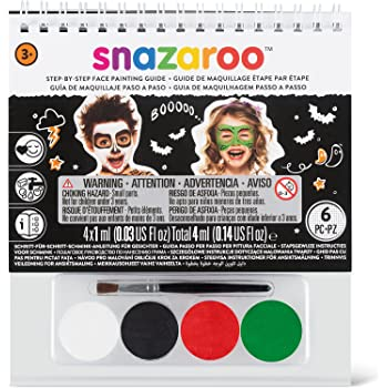 Snazaroo Halloween Step-by-Step Face Painting Set