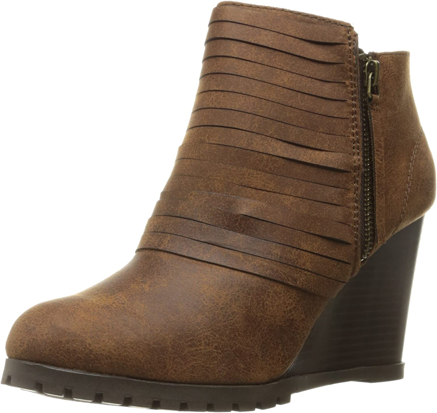 Sugar Womens Tempe Ankle Bootie