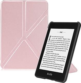 Fintie for Amazon Kindle Paperwhite 第10世代 ケース 2018 Newモデル スタンド 軽量 薄型 オートスリープ機能付き 電子書籍リーダー 保護カバー (ローズゴールド)