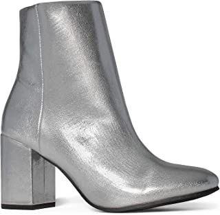 839d37174f2 Amazon.com: Silver Women's Ankle Boots & Booties