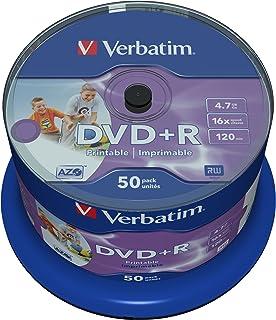 Verbatim DVD+R 4.7GB 16x SP 50 PR- 43512