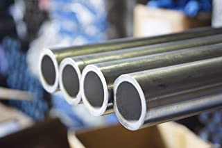 Stainless Steel 316/316L Seamless Hollow Tube Polished 320 GRIT, 10MM OD, 1.0MM Wall Thickness, 8MM ID, 331 BAR, 2 MTR, 3 Length in Bundle