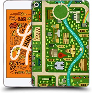 Head Case Designs Summer in Rome City Maps Soft Gel Case Compatible for iPad Mini (2019)