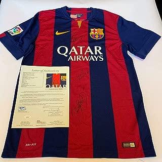 neymar signed jersey