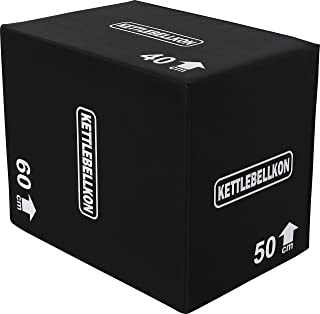 KETTLEBELLKON(ケトルベル魂)ソフトプライオメトリックスボックス(ジャンプボックス)3 in 1
