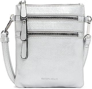 Emily & Noah Umhängetasche Emma 60392 Damen Handtaschen Uni lightsilver 829 One Size