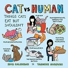 CAT vs. HUMAN 2018 Wall Calendar