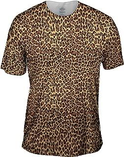 Yizzam Men's AnimalShirtsUSA- Cheetah Skin -Tagless T-Shirt