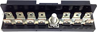 Sierra International FS40730 Ground Bus Bar for ATO/ATC Fuse Blocks with Contains Fourteen Tin Plated Copper Tab Terminals, 1/4