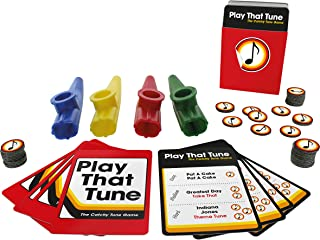 Paladone Play That Tune - Music Trivia Game with Kazoos