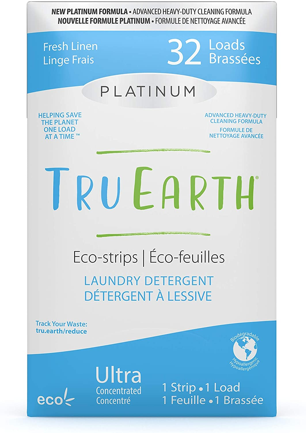 Tru Earth Platinum Eco-friendly Ranking TOP8 Compostable Concentrated Ultra Ranking TOP11