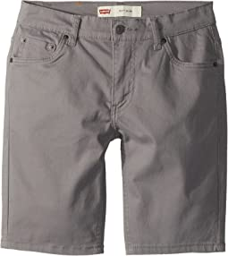 Levi's® Kids - 511 Slim Fit Soft Brushed Twill Shorts (Little Kids)