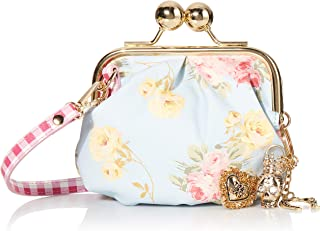 Charming Floral Kiss Lock Pouch