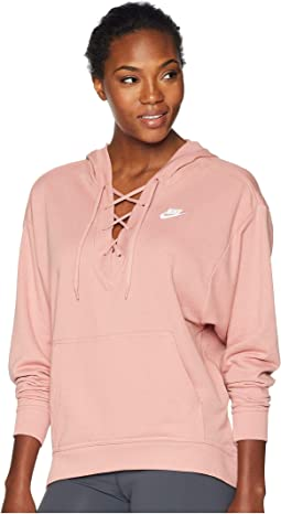 Club Lace-Up Hoodie