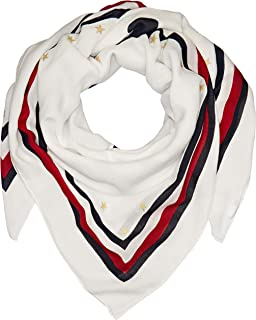 Tommy Hilfiger Women's Signature Tape Edge Scarf