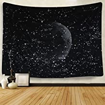 Moon Constellations Tapestry Wall Tapestry Bohemian Wall Hanging Tapestries Wall Blanket Wall Art Wall Decor Beach Tapestry Sunset Tapestry (59.1