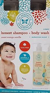The Honest Co. Shampoo & Body Wash, Value Pack (2X 17 fl. oz Bottles)