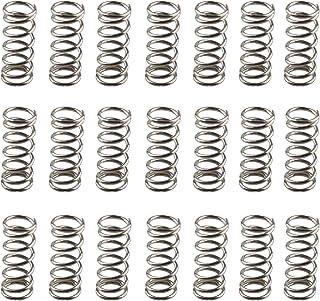 YINETTECH Lot de 10 Ressorts de Compression pour imprimante 3D CR-10 Jaune 8 x 25 mm