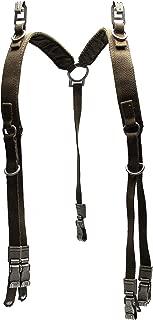 Used Original German Army Y-Straps Field Belt Suspenders Harness Bag Tactical Belt Loading Load Bearing Military Issue Surplus