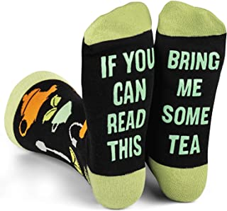 If You Can Read This Bring Me Novelty Socks - Funny Dress Socks For Men and Women
