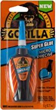 Gorilla Micro Precise Super Glue, 6 Gram, Clear, Pack of 1