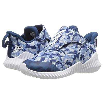 adidas Kids FortaRun AC (Toddler) (Ash Grey/Footwear White/Legend Marine) Kids Shoes