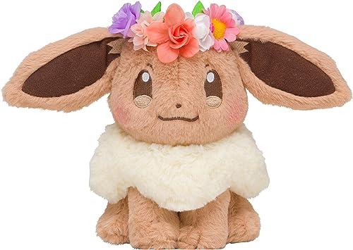 tienda en linea Pokemon Center Original Plush Plush Plush Doll Eevee évoli Evoli Pikachu & Eievui's Easter Peluche 14cm  sorteos de estadio