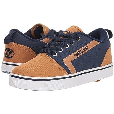 Heelys GR8 Pro (Little Kid/Big Kid/Adult) (Navy/Cashew) Boys Shoes