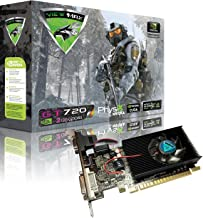 ViewMax GeForce GT 720 2GB GDDR3 PCI Express (PCIe) DVI Video Card HDMI & HDCP Support - Product Code Name AIR Strike F-16 Fighting Falcon Edition