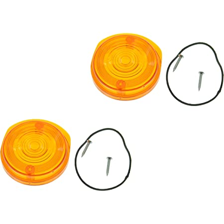 4 StÜck Blinkerkappe Rund Für Simson S50 S51 Sr50 Orange Mit E Prüfzeichen Auto
