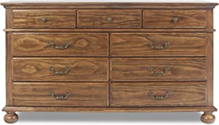 New Classic Furniture Cumberland Bedroom Dresser, Antique Pine