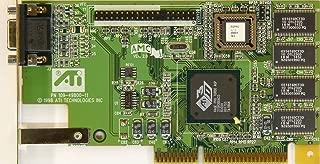 ATI 0125-21000 VIDEO CARD RAGE PRO TURBO AGP, 109-49800-11