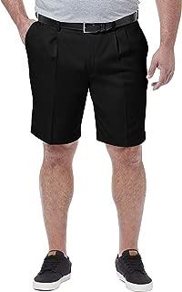 Haggar Men's Big & Tall Cool 18 Pro Pleat Front Short