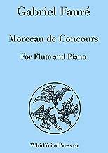 Morceau De Concours for Flute (Or Oboe) and Piano By Gabriel Fauré