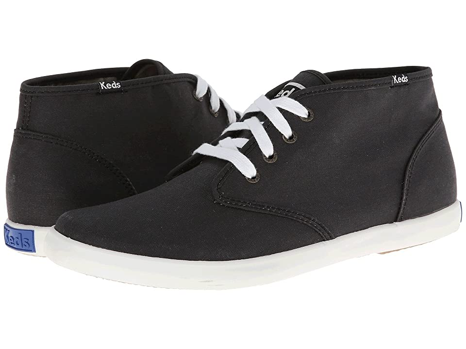 a9b280ddd Keds Champion Chukka Lo Rise Army Twill (Black) Men s Lace up casual Shoes