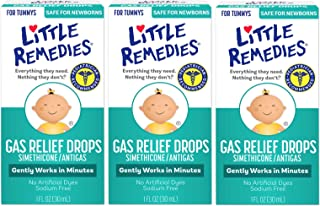 Little Remedies Gas Relief Drops   Natural Berry Flavor   1 oz.   Pack of 3   Gently Works in Minutes   Safe for Newborns
