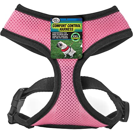 Four Paws XXL Pink Comfort Control Dog Harness