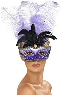 peacock masquerade mask uk