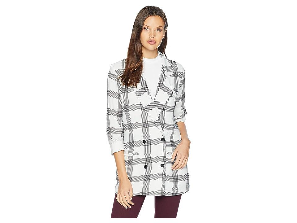 Flynn Skye Jayla Jacket (Cute in Checks) Women's Coat