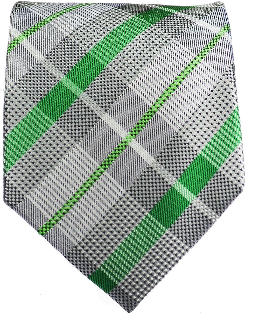 Miami Mall Silver Low price and Green Paul Malone Square Tie Silk Pocket