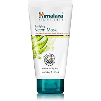 Amazon Com Himalaya Purifying Neem Mask For Deep Cleaning To Reduce Acne Leave A Clean Clear Complexion 5 07 Oz Beauty
