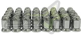 Supreme Engineering Technologies 32Pc Alcoa Chrome Dually Mag Lug Nuts 9/16